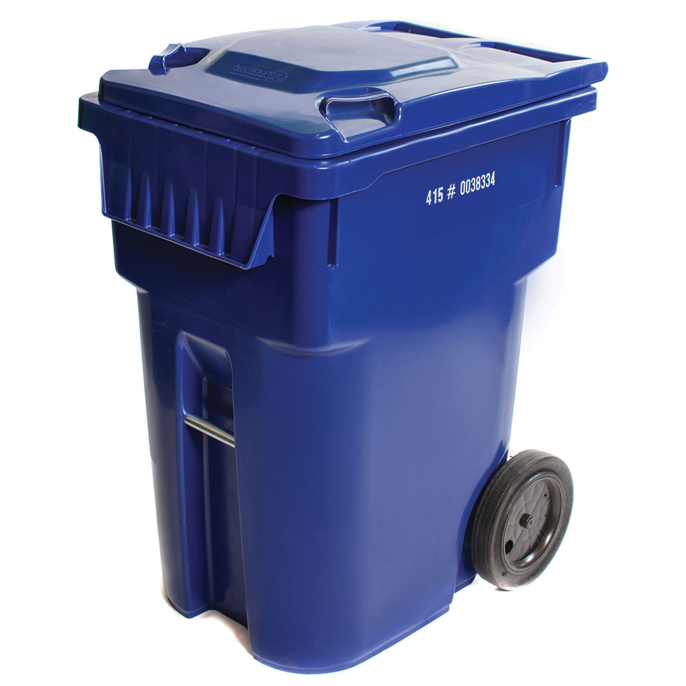 Blue 95 Defender Series Recycling Collection Container - All Source Products