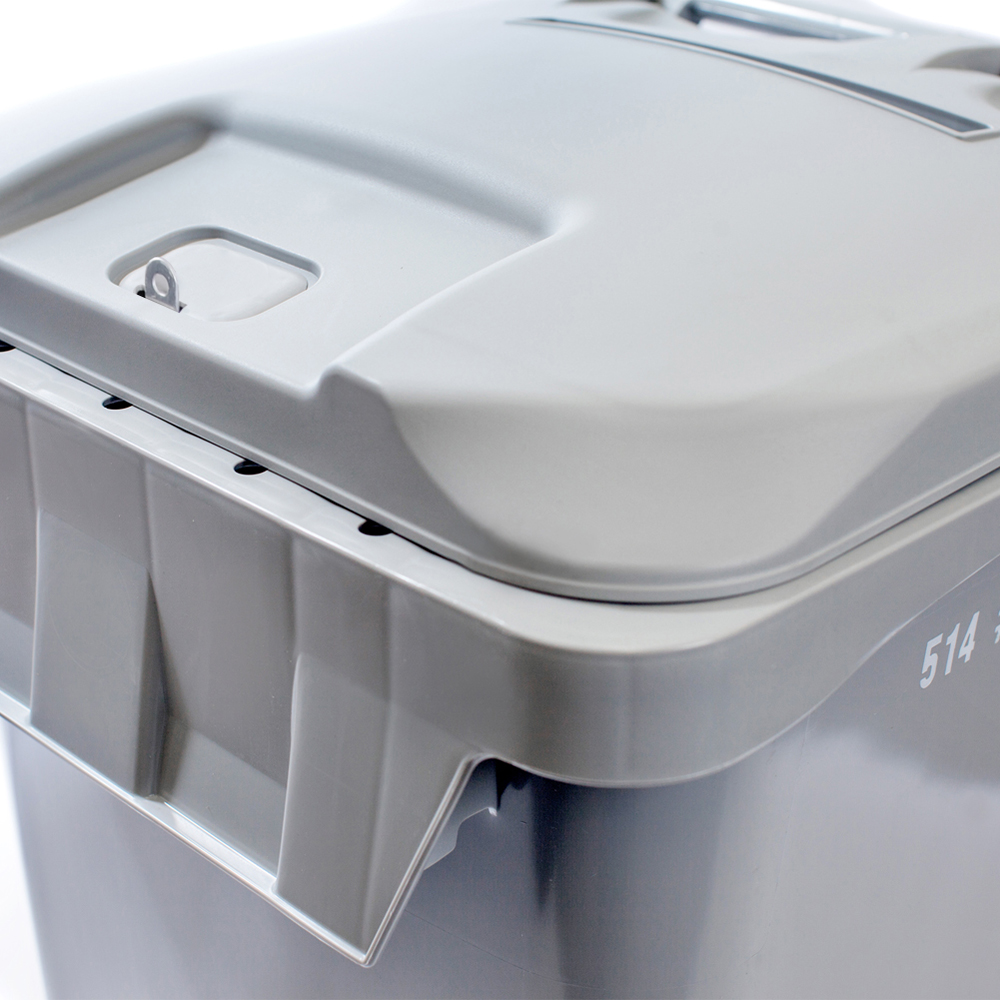 High Security Lid: Hasp